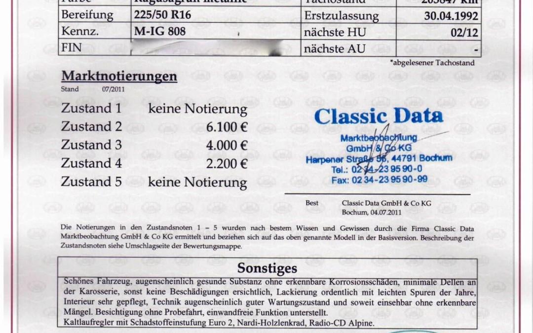 Classic Data Gutachten Teil II