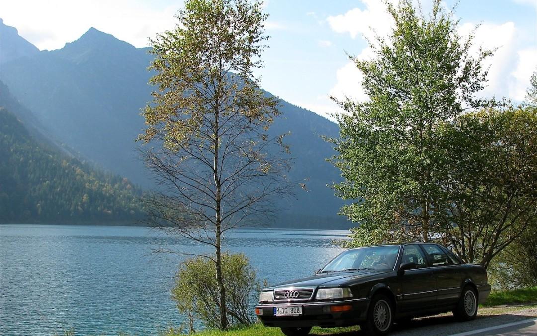 Der natürliche Lebensraum des Audi V8 quattro