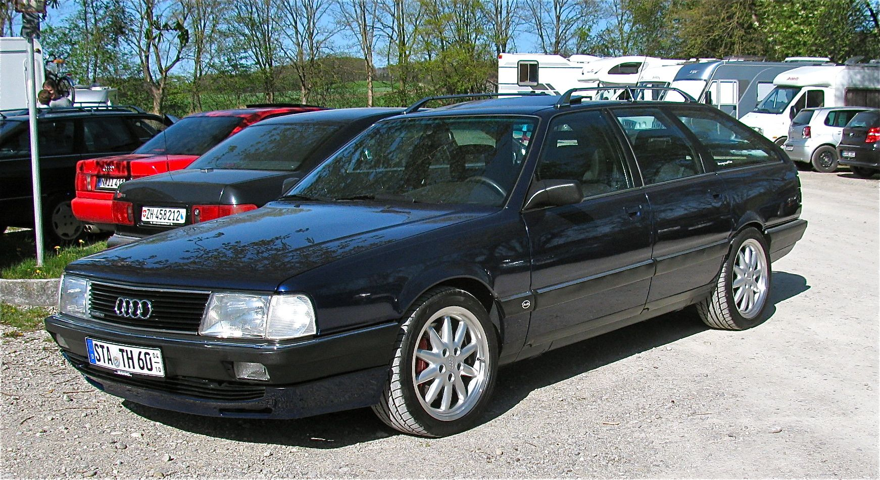 Audi 100 Avant Sport | V8-Kultur