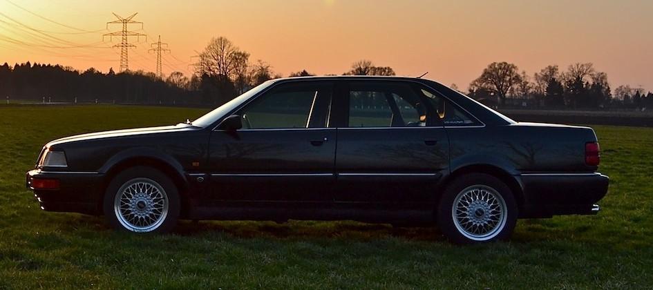 Der Audi V8 ist für mich die perfekte Symbiose aus zeitlosem Design und kraftvollem Luxus.
