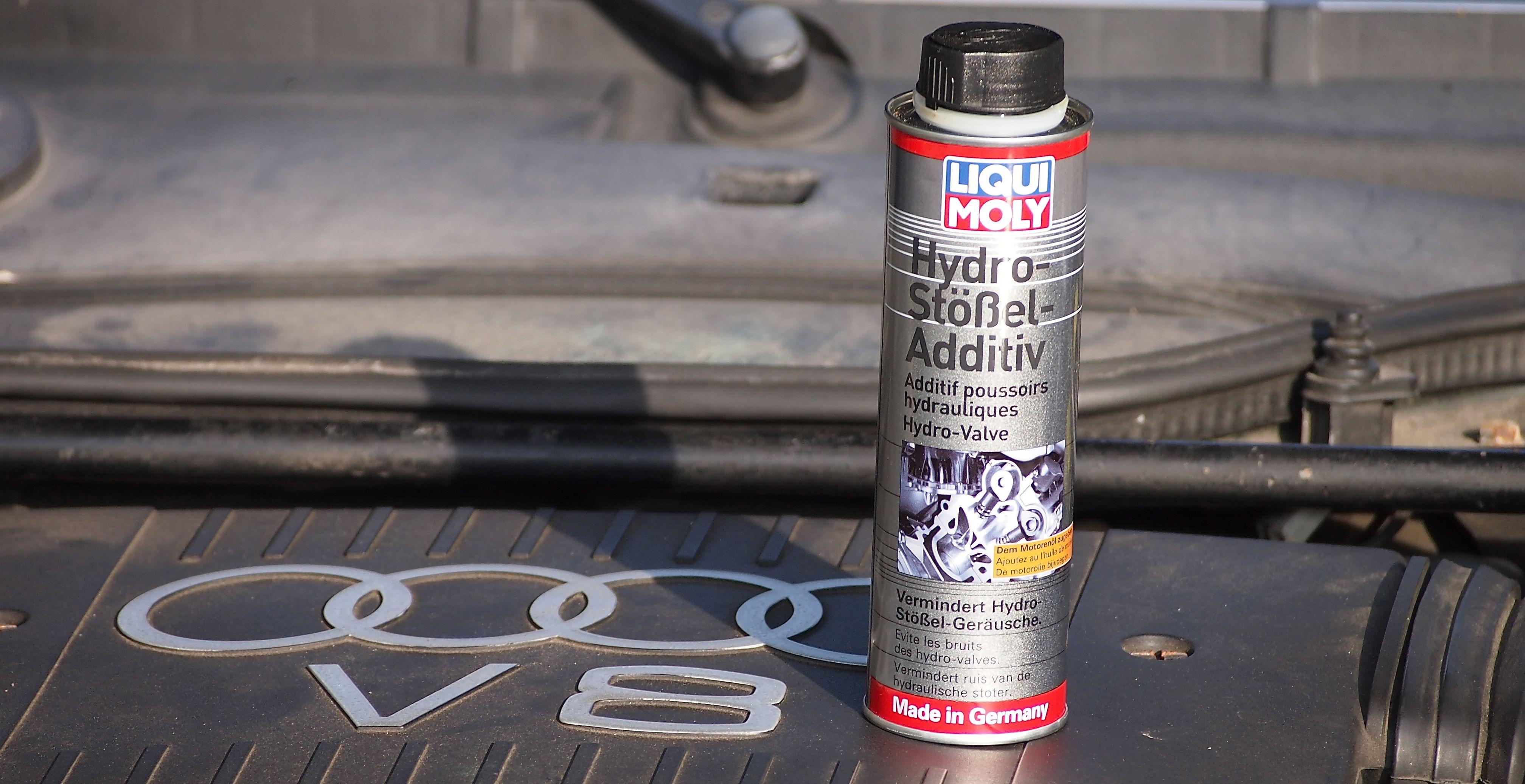 Das Additiv von Liqui Moly verhindert das Hydro-Klackern