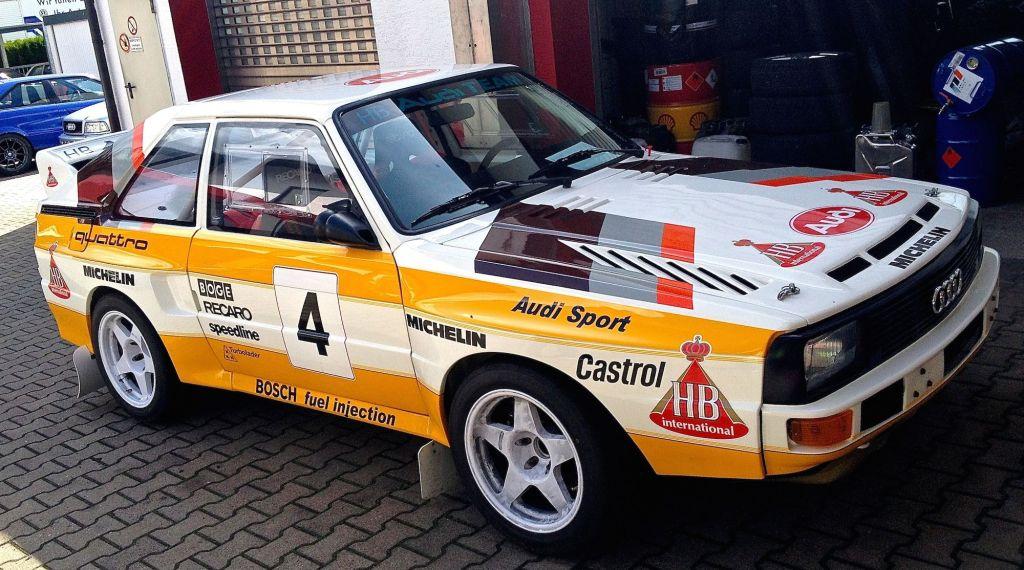 Audi Quattro Hohenester
