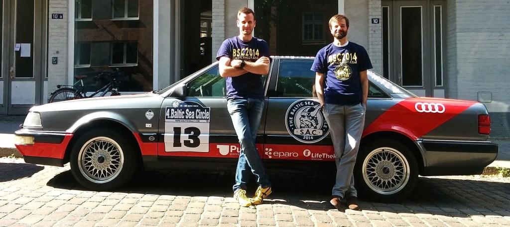 Arne und Sören fahren die nördlichste Rallye der Welt