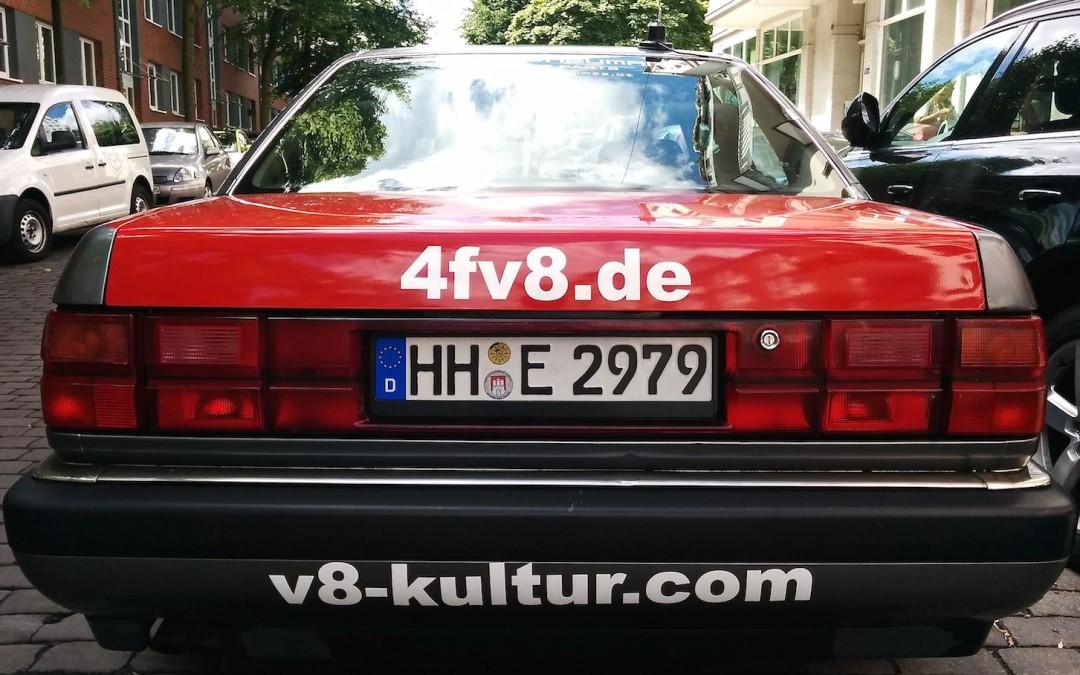 Einmal um die Ostsee in einem Audi V8