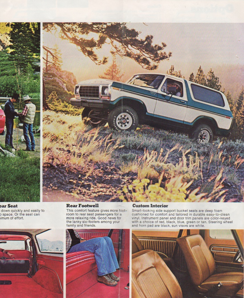 Seite 4 des original Prospekts von 1978. ©Ford Motor Company
