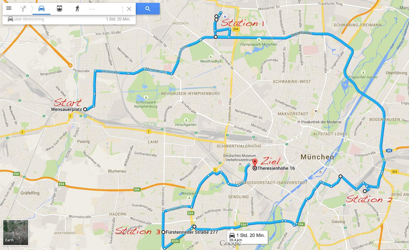 Auto gegen U-Bahn - Wer kommt bei der MucChallenge 2015 schneller ans Ziel?