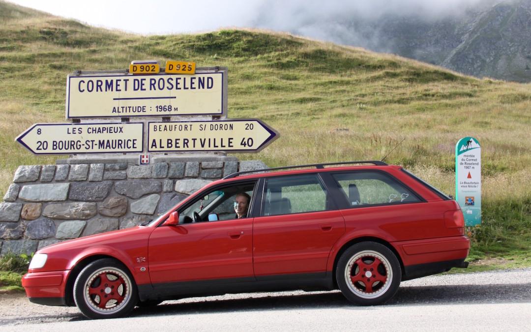 Über die Pässe der Route des Grandes Alpes