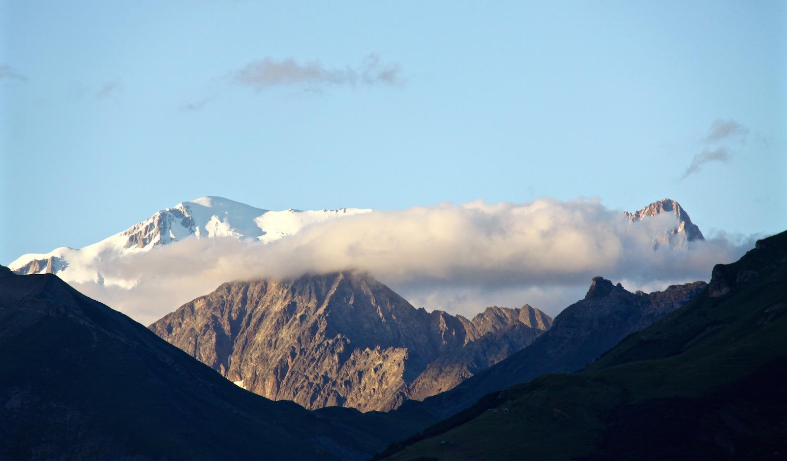 Stets erhaben und majestätisch - der Mont Blanc.