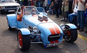 Lotus Super 7 Serie 2 mit Ford Cosworth-Motor.