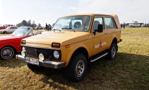 Quality made in Russia: der Lada 4x4.