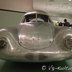Der Typ 64 ist der Ur-Porsche. Die Form verrät die Ansätze für alle späteren Sportwagen von Porsche.