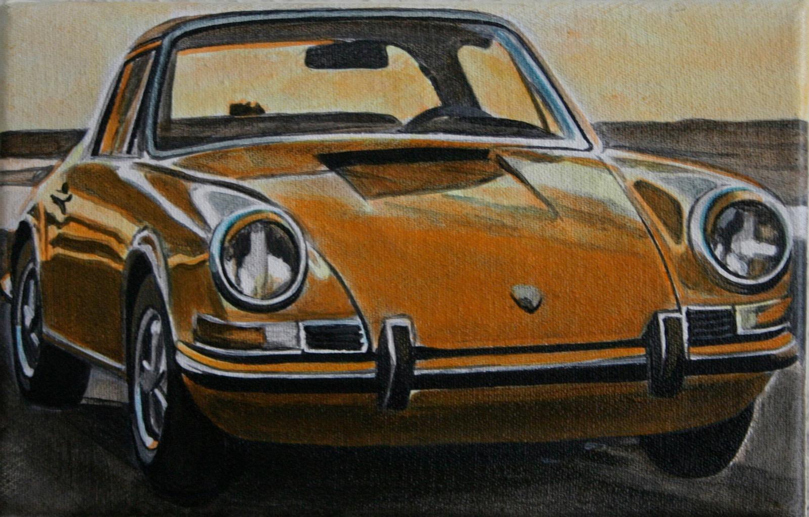 Das Design und die Linie faszinieren Aaron Vidal Martinez. Für ihn sind die Rundungen von Porsche weiblich und erotisch.