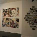 """Auf diesem Foto ist eine Ausstellung von Aaron Vidal Martinez aus der Reihe """"Triumph der Technik"""" zu sehen."""