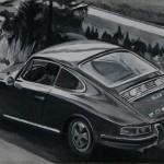 Dieser Porsche 911 ist eines der neuesten Werke von Aaron Vidal Martinez.