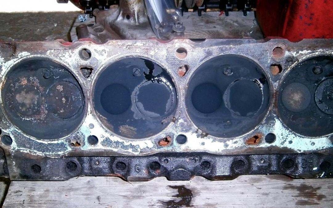 Bilder von der Ford F-100 Restaurierung