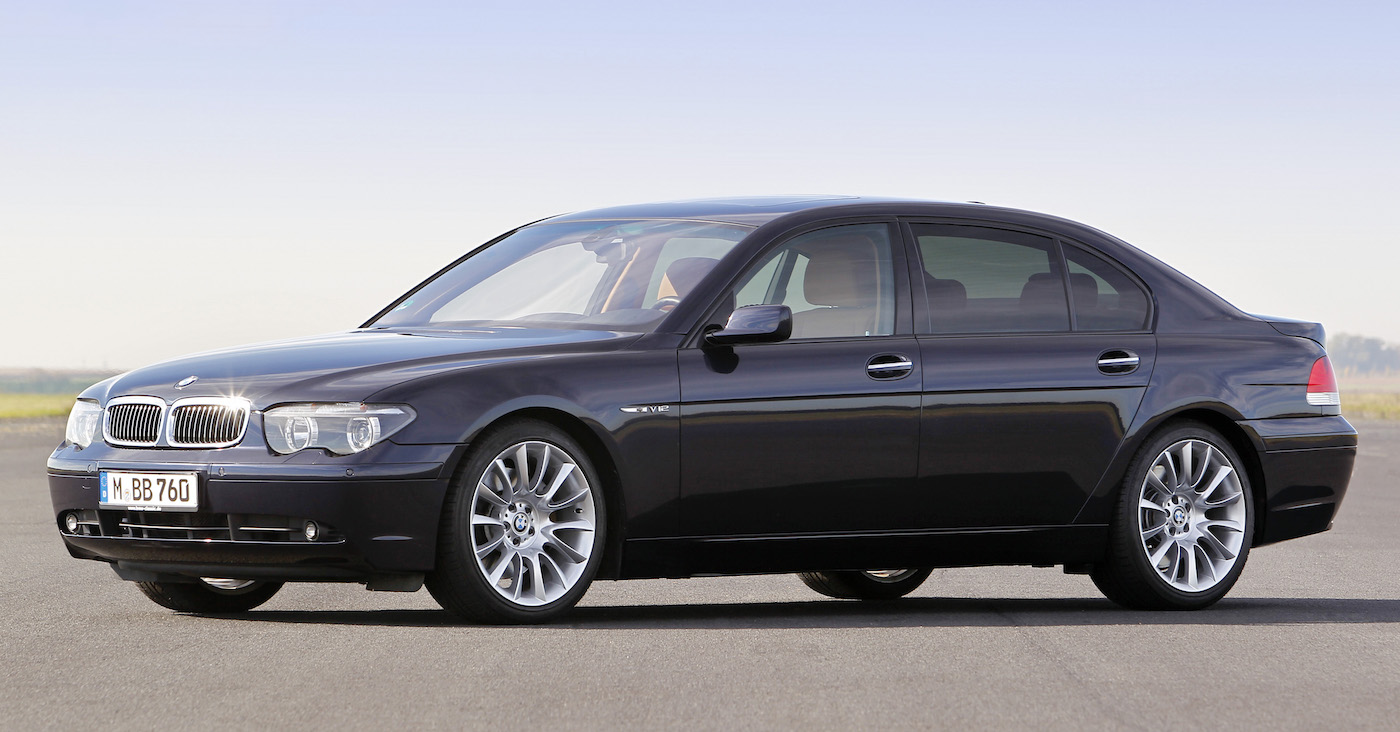 Die vierte Generation des BMW 7ers bricht mit der klassischen Linie seines Vorgängers, des BMW E38.