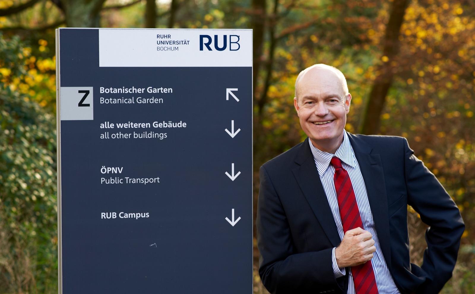 Dr. Rüdiger Hossiep, Wirtschaftspsychologe an der Ruhr-Universität Bochum, erforscht den Zusammenhang zwischen dem Auto und der Psyche seines Fahrers.