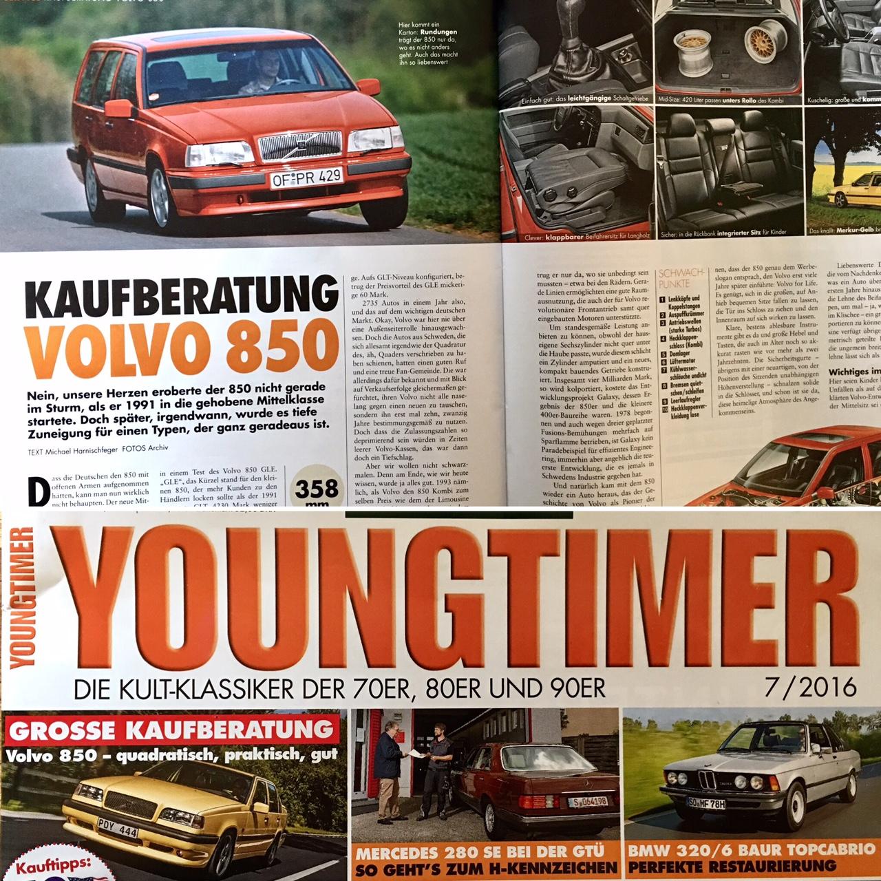 Treuer Volvo 850 GLT Zu Verkaufen