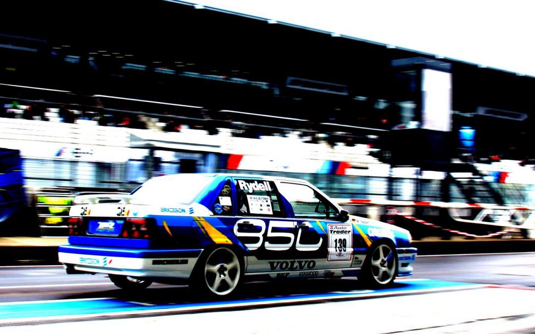 Ikea-Racing: Volvo 850 T-5R beim Oldtimer Grand Prix